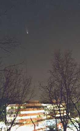 Waltham, MA Comet Hale-Bopp photographs